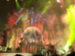 Gary Holt of Slayer headbanging