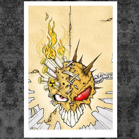 """BIO-FIRE 13"""" x 19"""" ART PRINT"""