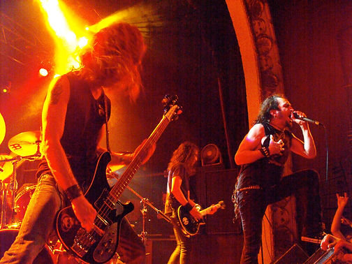 Headbanging with Death Angel in Toronto