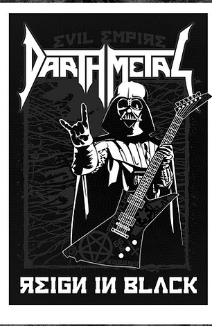 "DARTH METAL 13"" x 19"" ART PRINT"