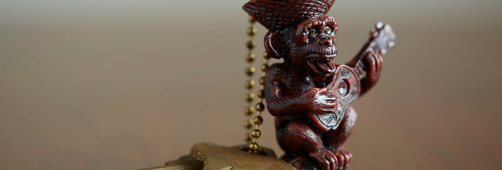 APE Limited Edition China Red Keychain
