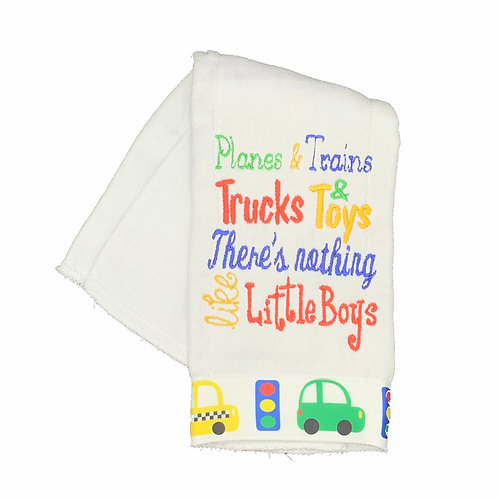 There's nothing like Little Boys Burpcloth