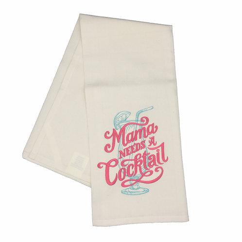 Mama Needs a Cocktail Dish Towel