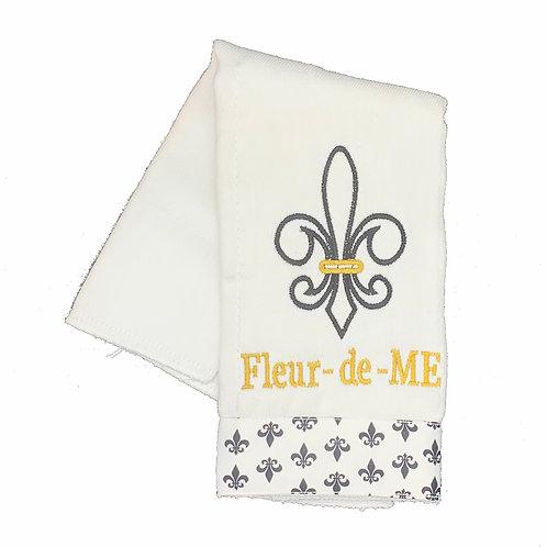 Fleur-de-ME Saints Burpcloth
