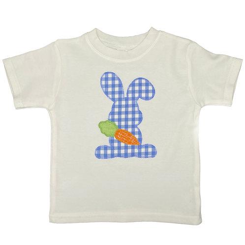 Blue Check Bunny
