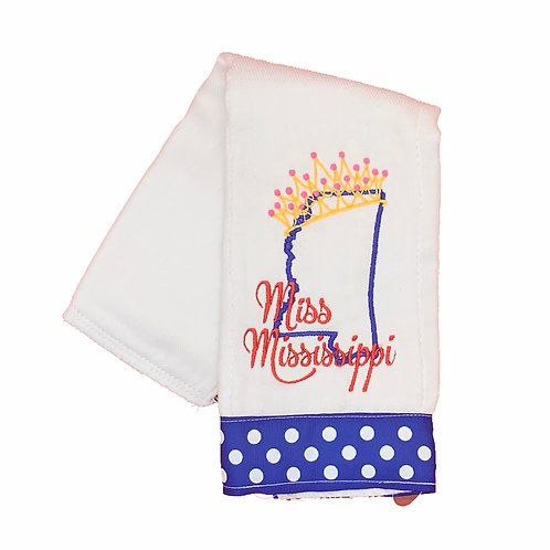 Miss Mississippi Burpcloth