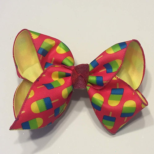 Summer Popsicle Bow