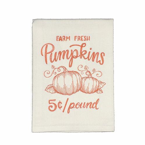 Pumpkin Dish Towel
