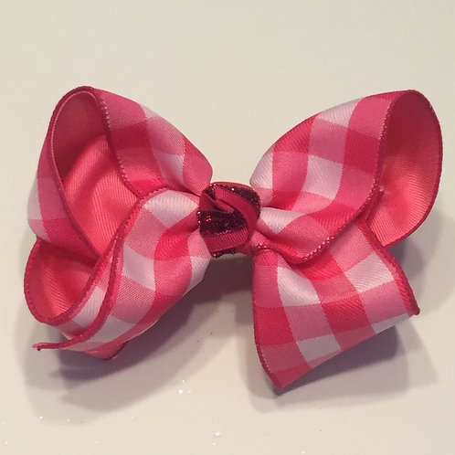 Summer Checkered Bow