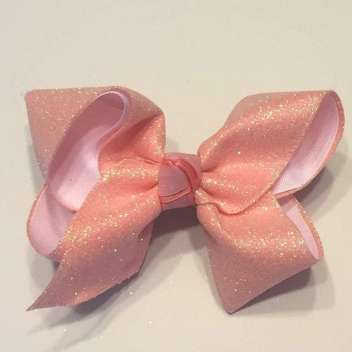 Rose Glitter Bow