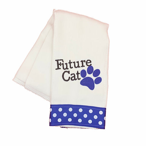 Future Cat Burpcloth