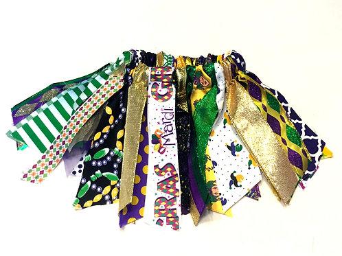 Mardi Gras Shabby Tutu Skirt