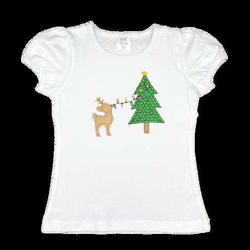 Rudolph Decorating Christmas Tree