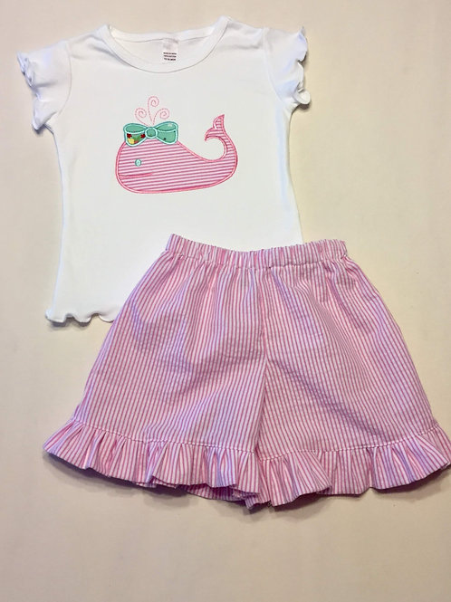 Pink Whale Outfit