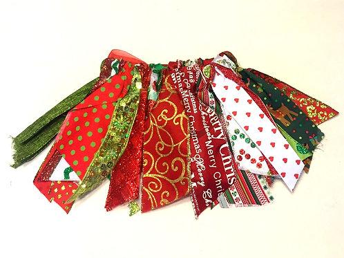 Christmas Shabby Tutu Skirt
