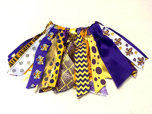Geaux Tigers Shabby Tutu Skirt