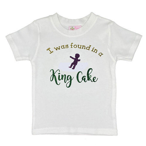 I was found in a King Cake