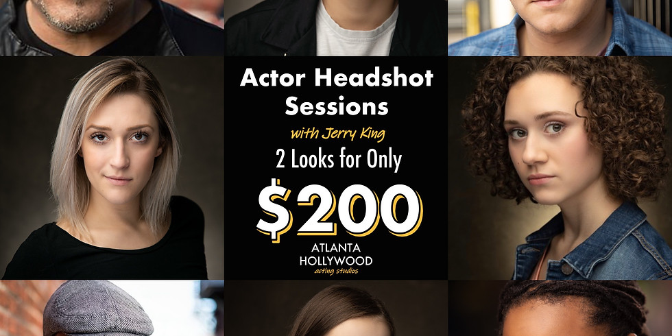 Actor Headshot Sessions