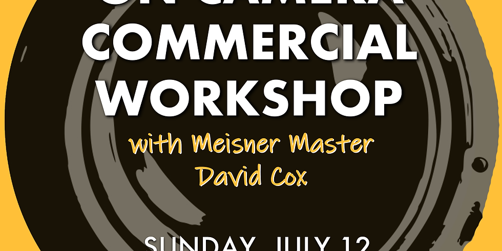 On-Camera Commercial Workshop
