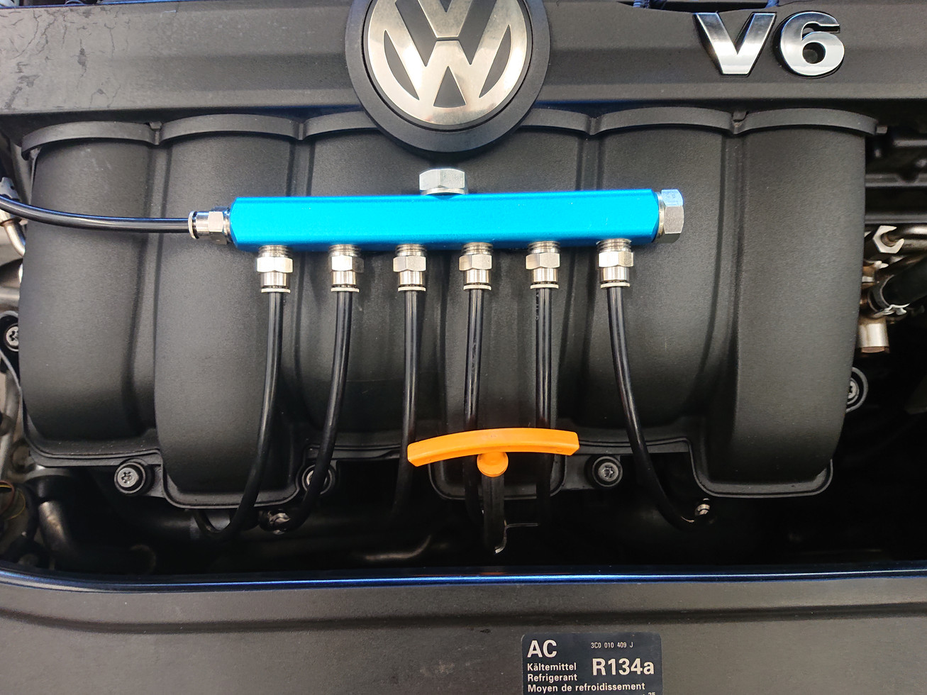 VW R36 Water Methanol Install