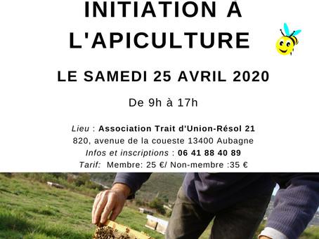 Atelier d'Initiation à l'Apiculture le 25 avril 2020