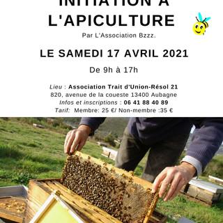 Atelier d'initiation à l'apiculture