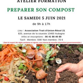 Atelier Formation Préparer son compost l