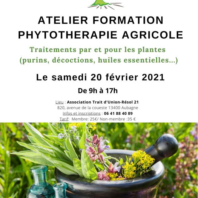 Atelier Formation en Phytothérapie agric