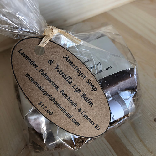 Amethyst Gift Set
