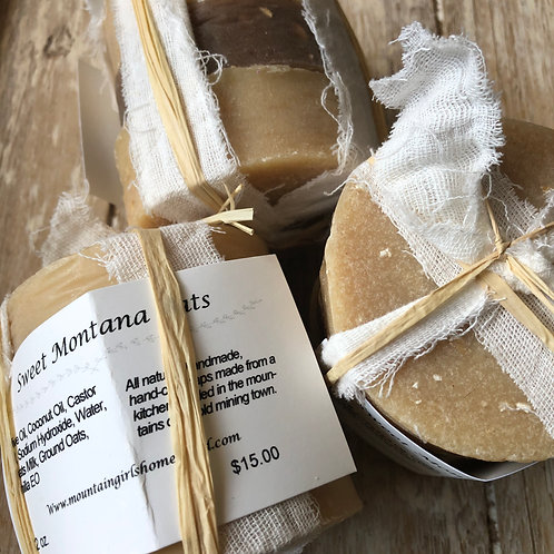 Sweet Montana Oats Soap Bundle