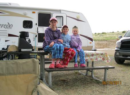 Camping memories.