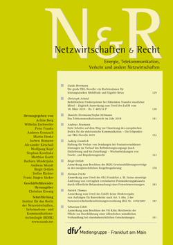 Netzwirtschaften & Recht