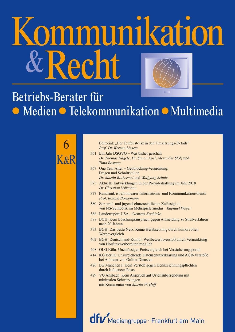 Kommunikation & Recht