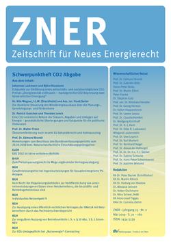 Neues Energierecht