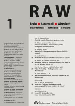 Recht & Automobil & Wirtschaft