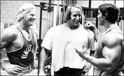 Dave Draper, Mike Katz, & Arnold Schwarz