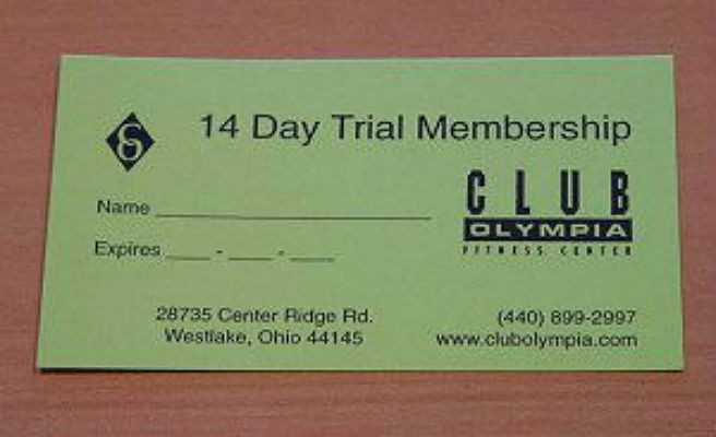 Club Olympia Fitness Center cira 2000