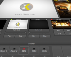 VidBlasterX modular user interface