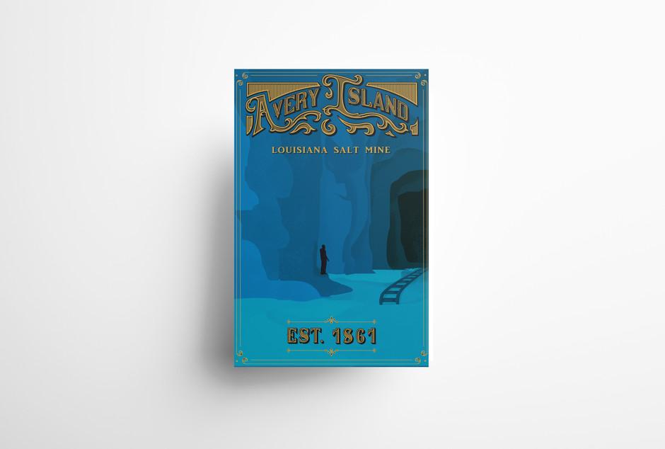 Avery Island WPA Poster