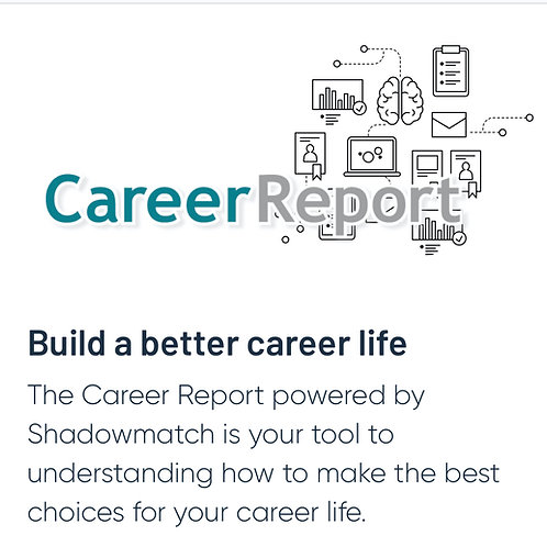 Shadowmatch Career Report + One-on-One Feedback session