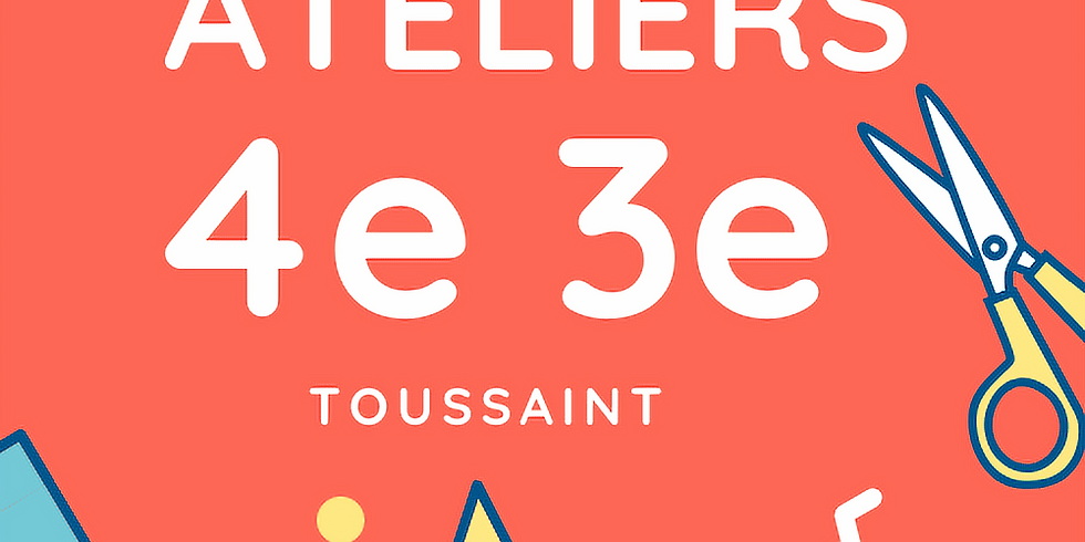 Maths 4eme 3eme - Toussaint S43