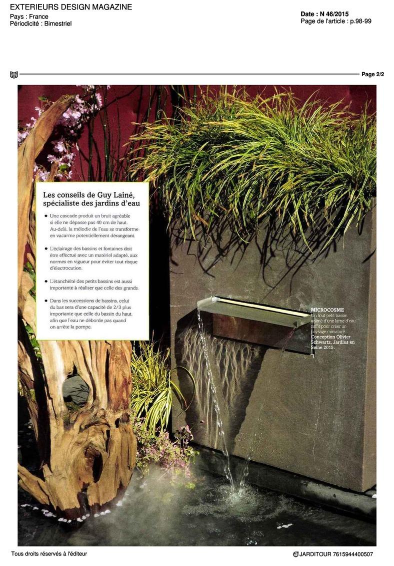 Extérieurs design  p 99