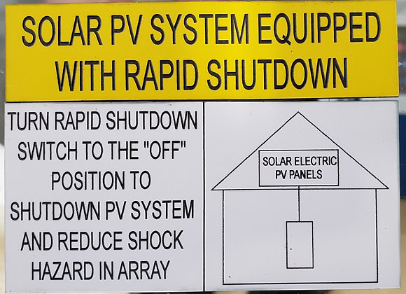 SOLAR PV SYSTEMM YELLOW AND BLACK