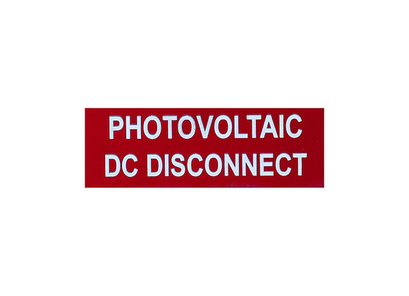 Photovoltaic System DC Disconnect small