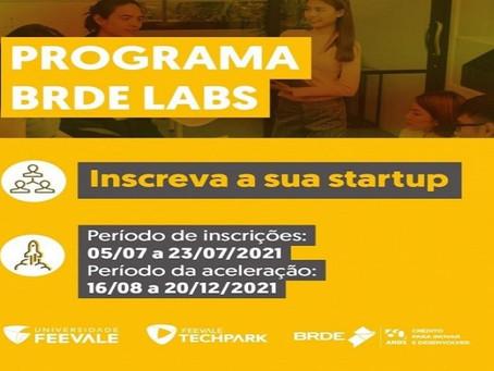 BRDE abre inscrições para a segunda edição do programa de aceleração de startups