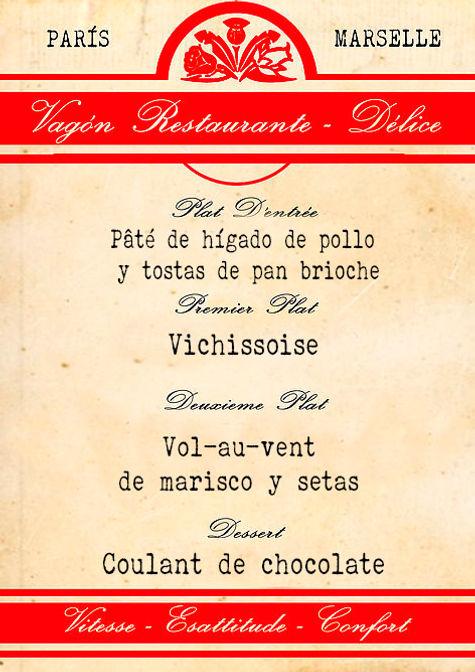 Menú francés de Cluedo Sevilla en La Grulla