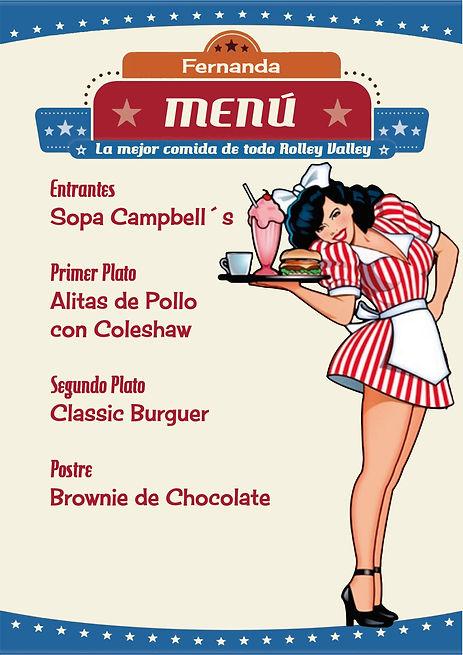 Menú americano de Cluedo Sevilla en The Gastromentor