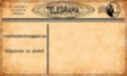 Telegrama para contactar con Cluedo Sevilla y participar en una cena con asesinato