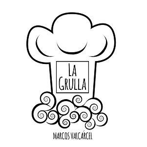 Logo La Grulla, colaborador de Cluedo Sevilla