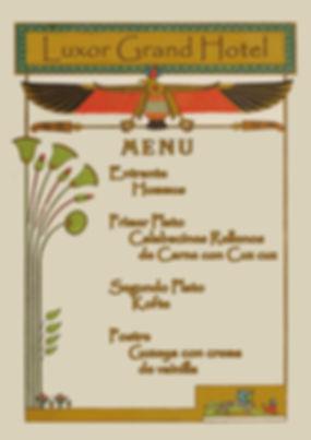Menú egipcio de Cluedo Sevilla en The Gastromentor